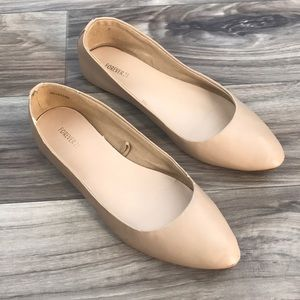 Forever 21 nude flats size 6.5